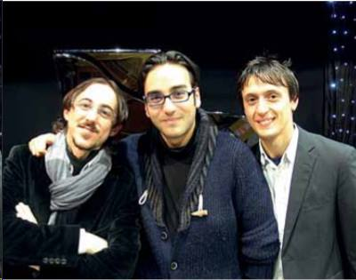 Three pianists