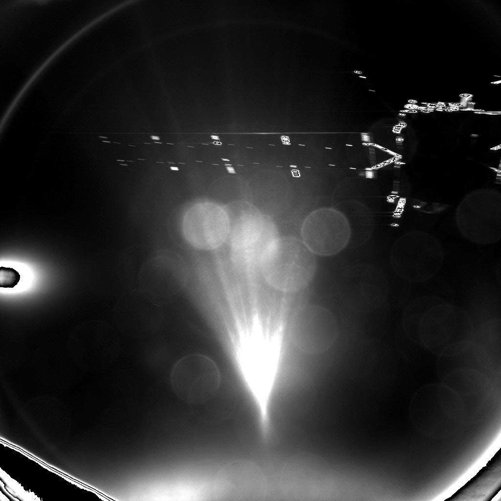 foto gemaakt door Philae van de Rosetta sonde